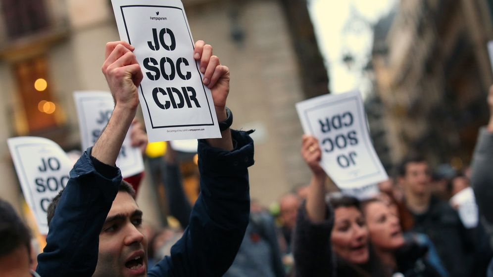 Foto: Manifestaciones de protesta por la detención. (EFE)