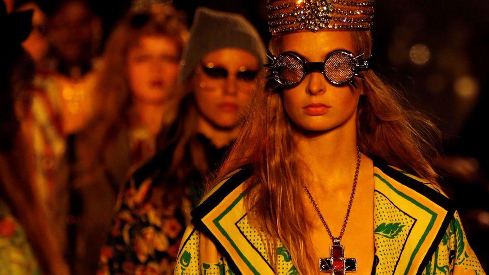 Foto: Desfile de Gucci. (Reuters)