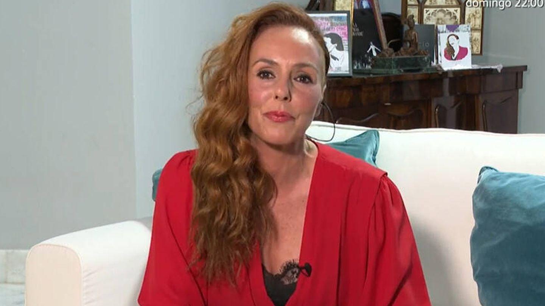 Rocío Carrasco, en Telecinco. (Mediaset)