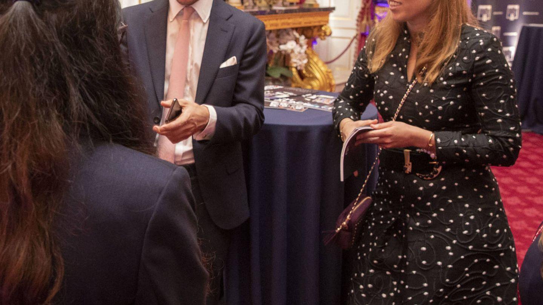 Beatriz de York y Edoardo Mapelli, en una imagen de archivo. (Getty)