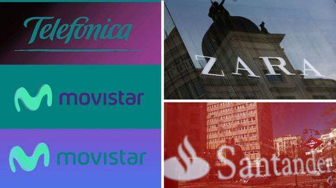 Zara, Movistar y Santander, las tres marcas españolas más valiosas (y otras 27)