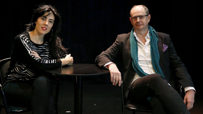 Raquel Lanseros y Fernando Marías en la presentación de 'Versex' (Efe)