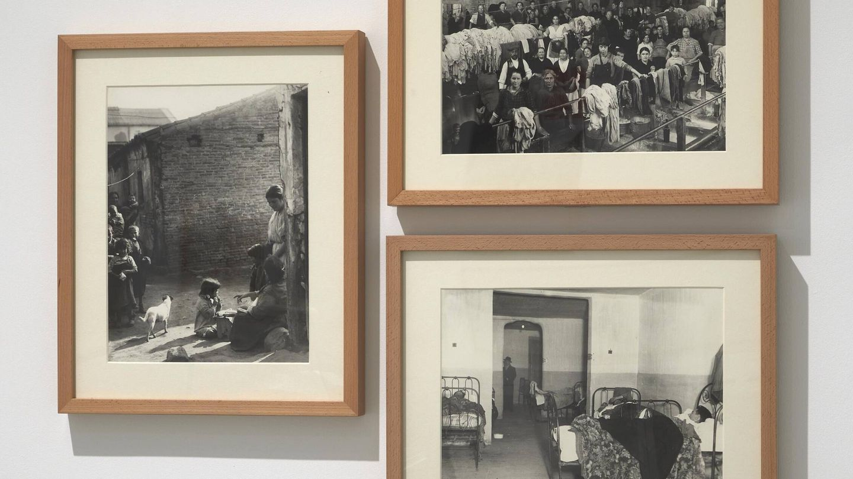 Las fotografías de los barrios obreros como Tetuán en Madrid. (Museo Reina Sofía)