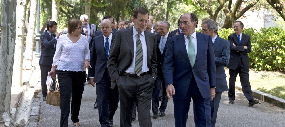 Foto: Mariano Rajoy e Ignacio Sánchez Galán (EFE)