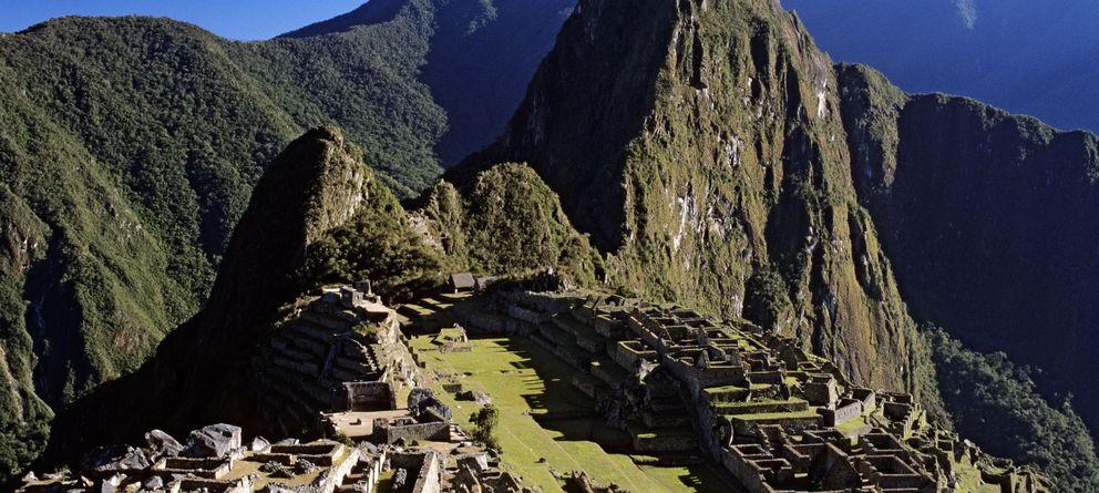 Foto: Machu Picchu es considerado el gran símbolo de la arquitectura inca. (Corbis)