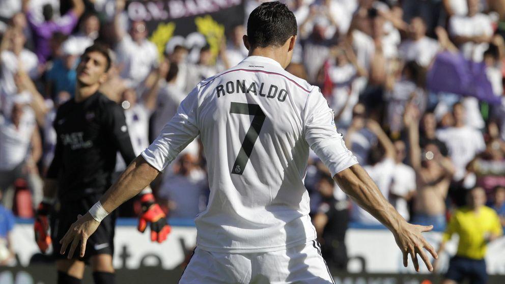 Cristiano amenaza a Bravo: 9 goles en sus cuatro visitas al Bernabéu