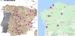 Post de Renfe se inventa su propio mapa: Vigo es Portugal y Oporto pierde el mar