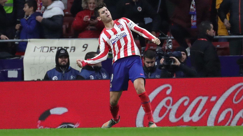 La dependencia que tiene el Atlético de Madrid de Morata (2-0)