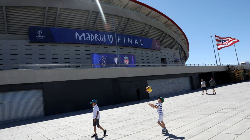 Foto: Estadio Wanda Metropoitano, en Madrid (Reuters)