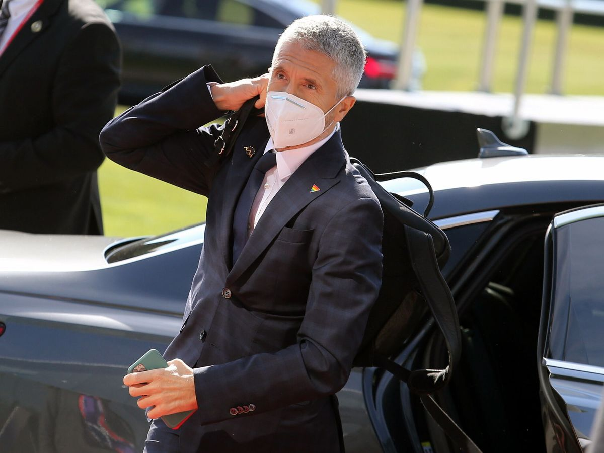 Foto: El ministro Fernando Grande-Marlaska. (Reuters)