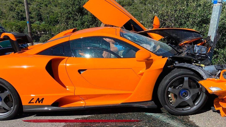 ¿Quién es el expiloto de Fórmula 1 que ha destrozado un coche de un millón de euros?