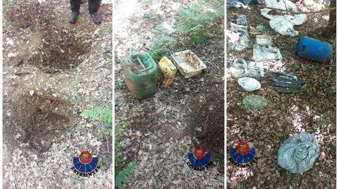 Localizado en Álava un zulo de ETA con material explosivo de hace 10 años