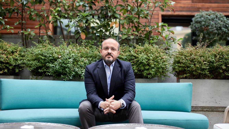 Foto: El presidente y candidato del PPC, Alejandro Fernández. (Jorge Álvaro Manzano)