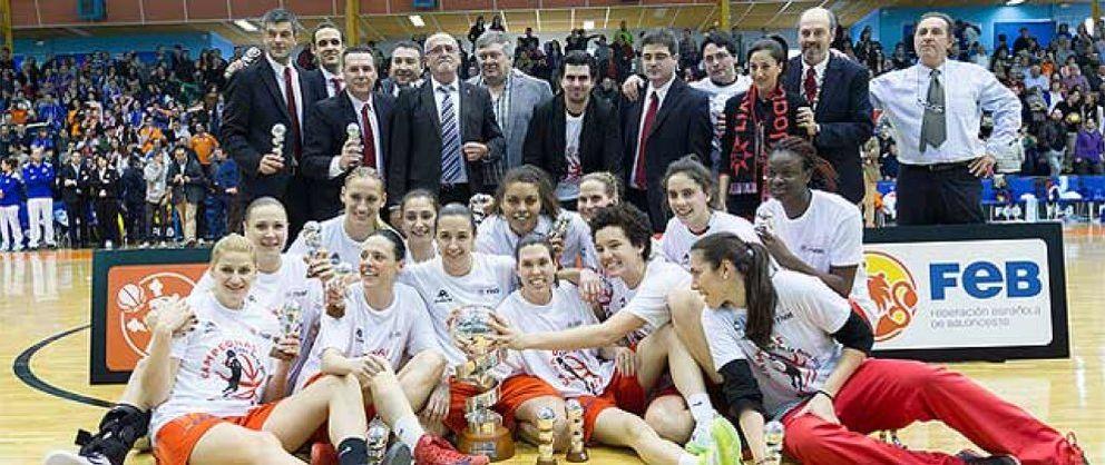 Foto: Rivas Ecópolis campeón de una espectacular Copa de la Reina