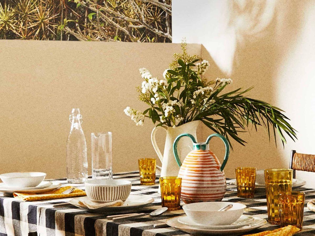 Foto: Prepara tu cena con la ayuda de Zara Home. (Cortesía)