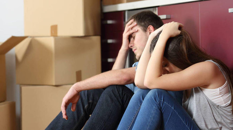Jóvenes expulsados del alquiler y empujados a comprar una casa que no pueden pagar