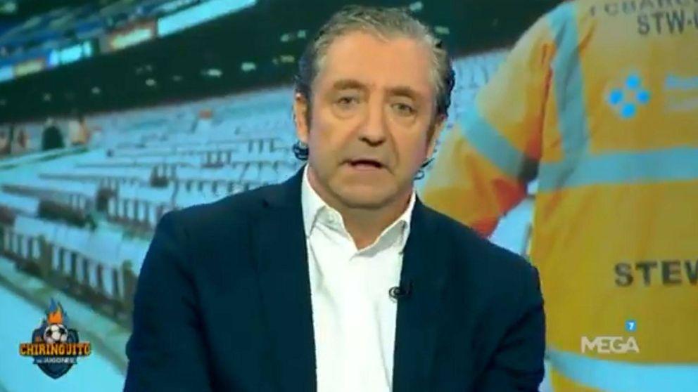 Josep Pedrerol se rompe en su discurso sobre el referéndum en 'El chiringuito'