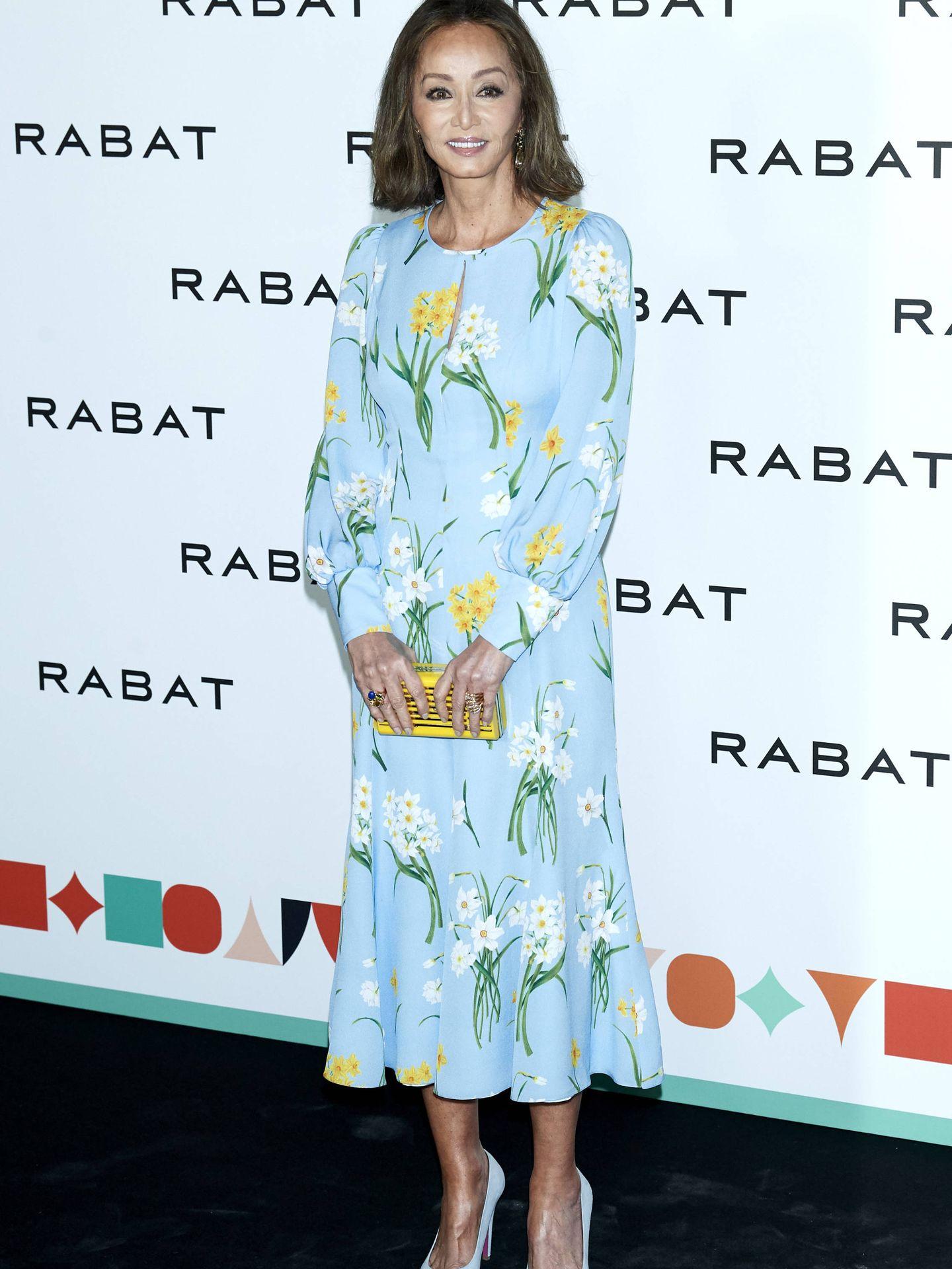 Isabel, en la presentación de la colección de Rabat.