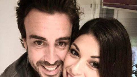 El tierno beso de Fernando Alonso con Linda Morselli