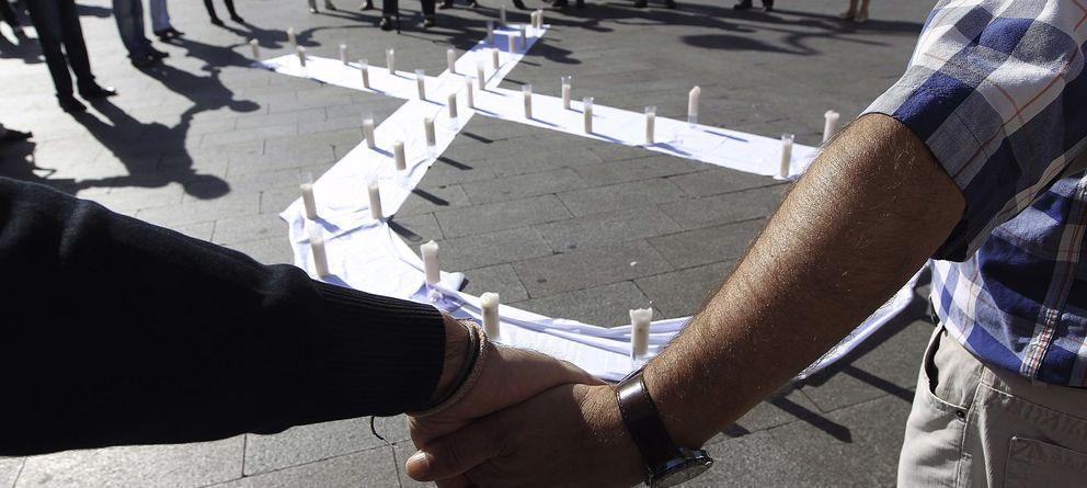 Foto: Manifestación contra la violencia machista el pasado lunes en Madrid. (EFE)