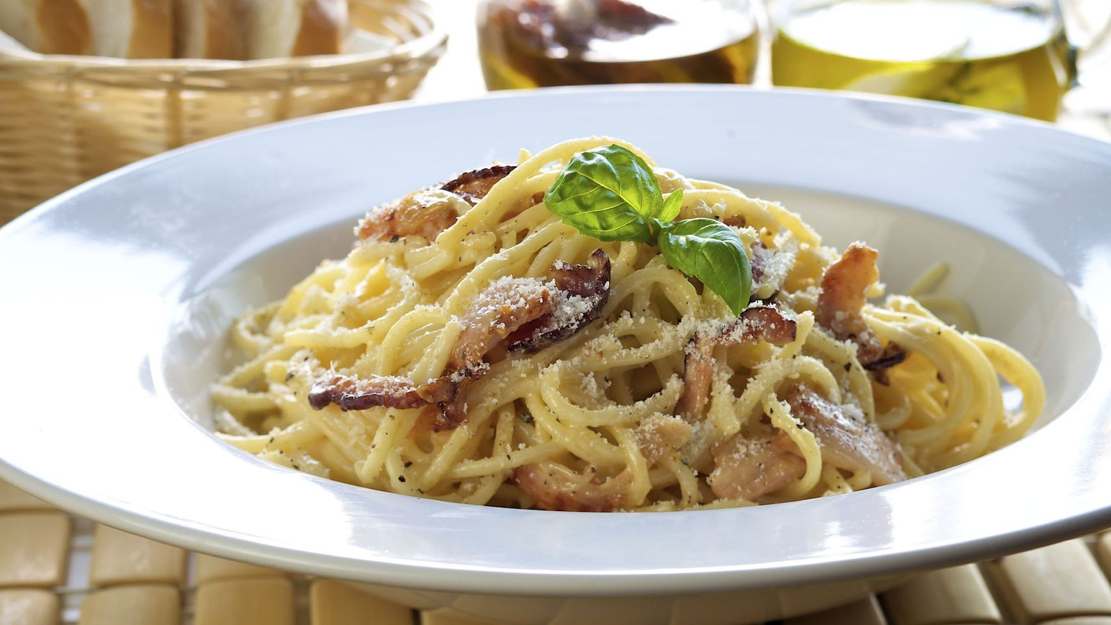 Image Result For Receta Espaguetis Carbonara Original