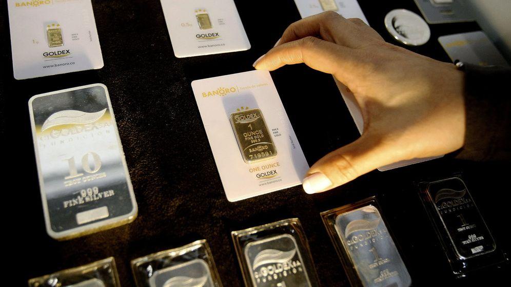 Foto: Primer cajero automático de oro (Efe)
