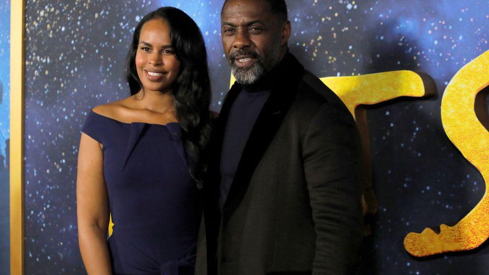 Foto: Idris Elba y su esposa, Sabrina Dhowre. Foto: REUTERS Andrew Kelly