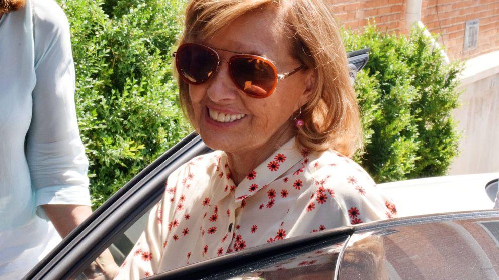 María Teresa Campos se despide de su casoplón recibiendo a Bertín Osborne