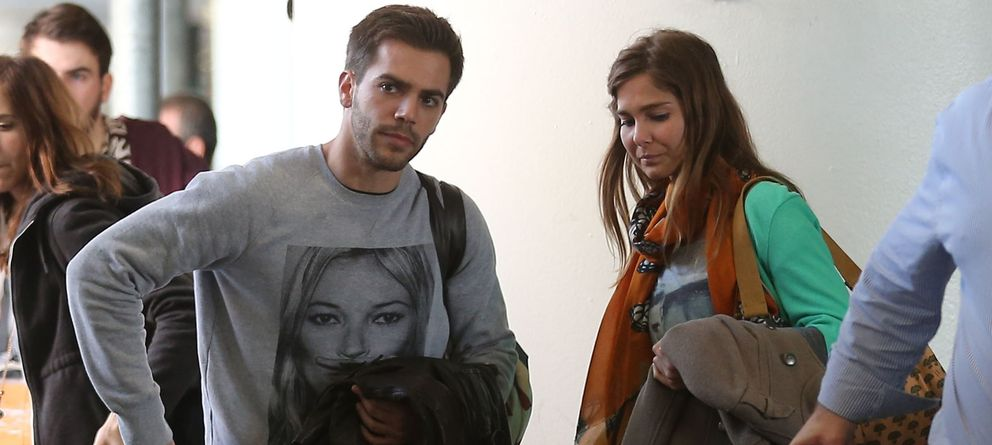 Foto: Marc Clotet y Natalia Sánchez hace unos días en Los Ángeles. (Gtres)