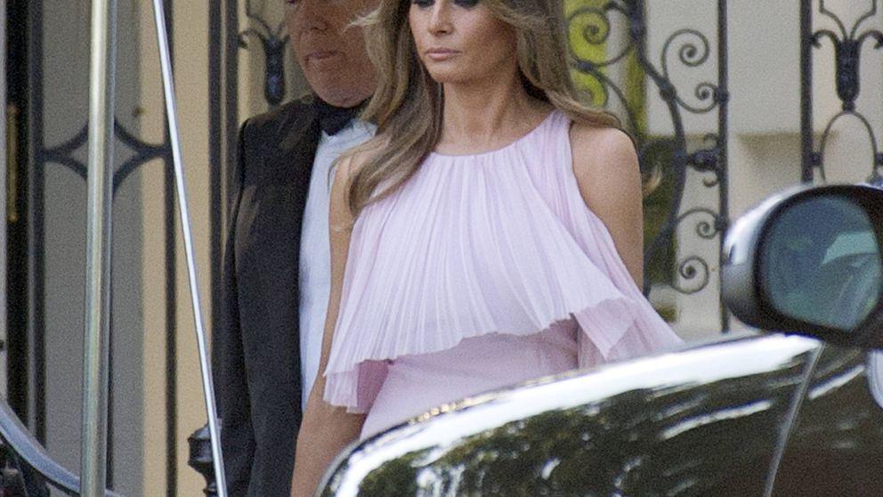 ¿Copia o tendencia? Melania e Ivanka Trump, muy parecidas en una boda