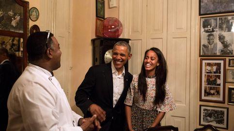 Malia Obama, la traductora improvisada de su padre por las calles de La Habana