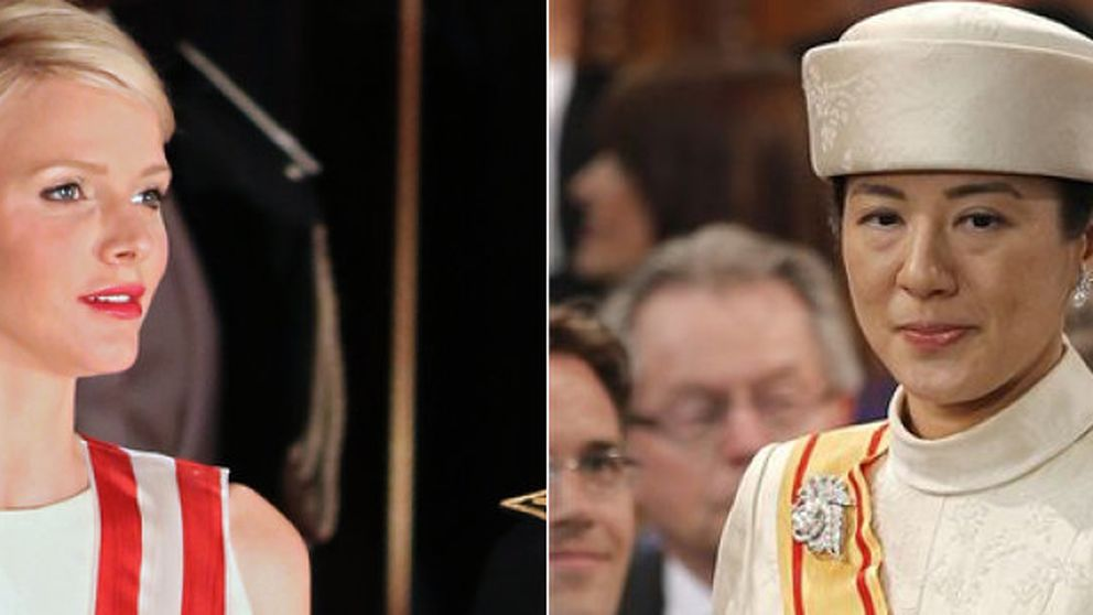 "Charlene de Mónaco y la ""princesa triste"" de Japón dan la sorpresa en Ámsterdam"