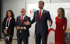 Madrid 2020: lujo en Argentina para volver a España sin JJOO