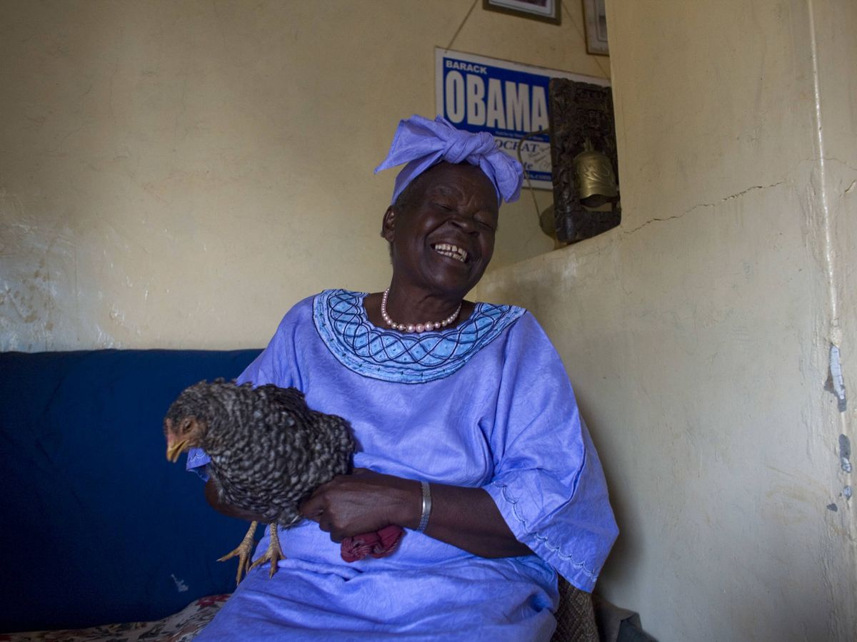 Foto: La abuela de Barack Obama, en una imagen de archivo. (Getty)