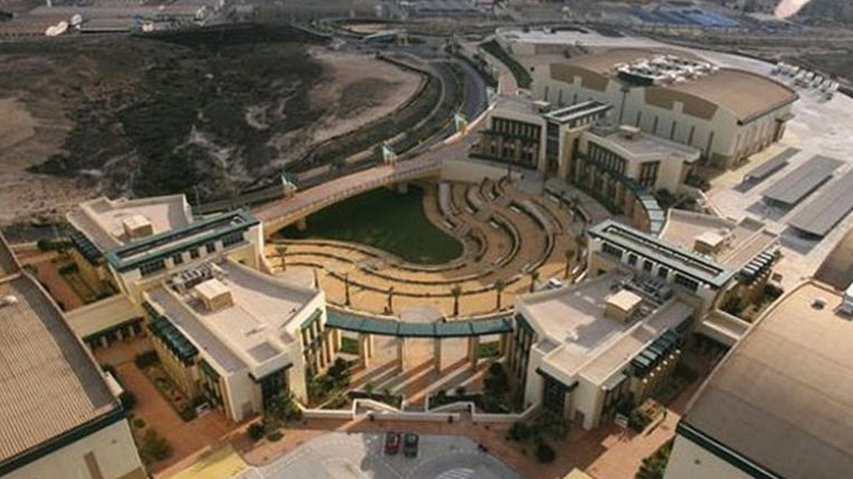 Imagen de la web de la Ciudad de la Luz de Alicante