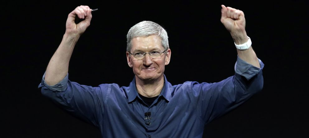 Foto: Tim Cook, director ejecutivo de Apple (Gtres)