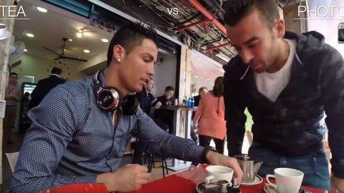Esto es lo que ocurre cuando Ronaldo se sienta en una terraza