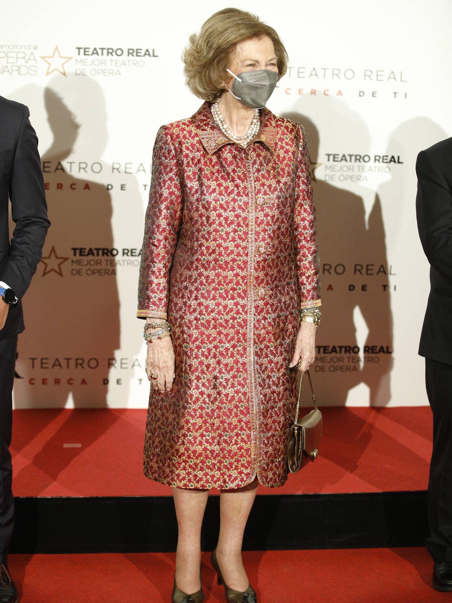 La reina Sofía, en el Teatro Real. (Limited Pictures)