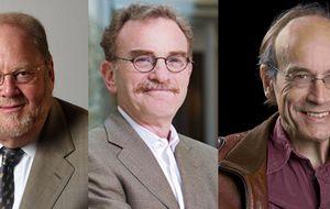 James Rothman, Randy Schekman y Thomas Südhof, Nobel de Medicina