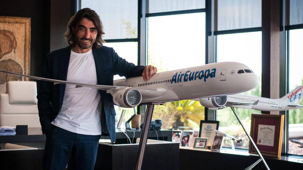 Foto: El empresario Javier Hidalgo, en su despacho. (Carmen Castellón)