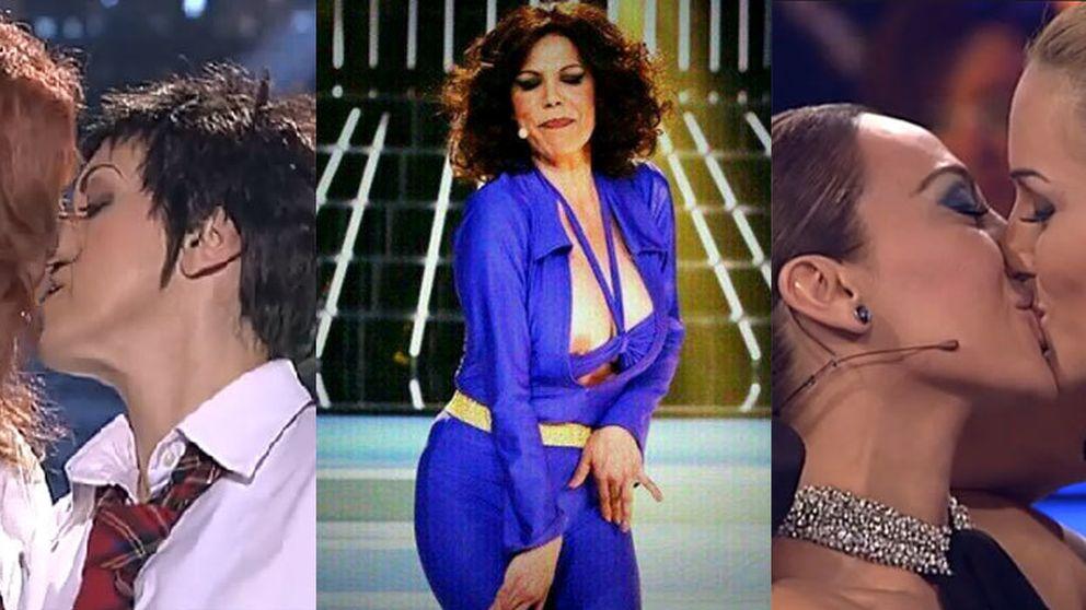 Toñi Salazar se marca un Sabrina en los directos de 'Tu cara me suena'