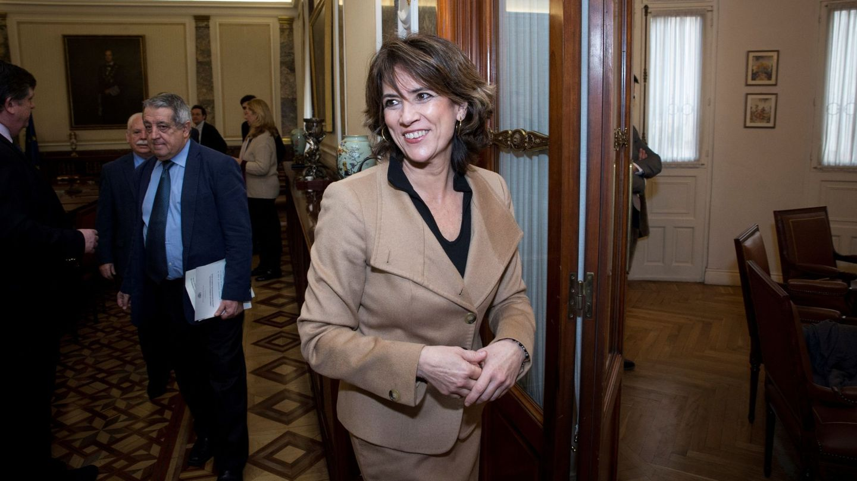 La fiscal general del Estado, Dolores Delgado. (EFE)
