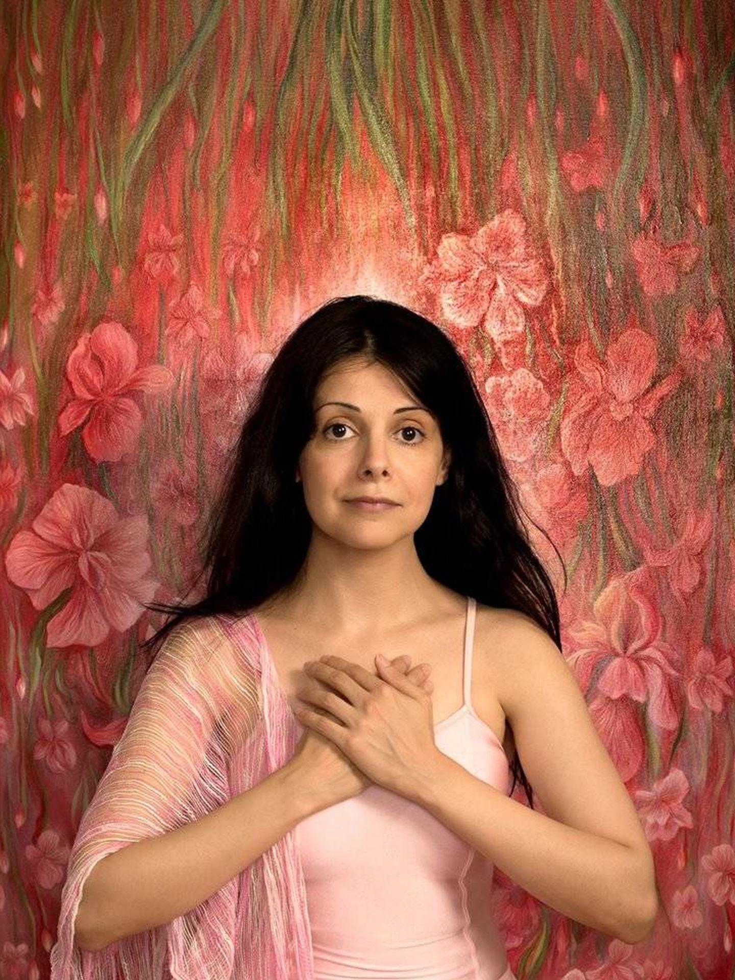 Lida Sherafatmand, artista iraní. (Cedida)