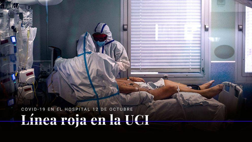 El coronavirus en el Hospital 12 de Octubre: línea roja en la UCI