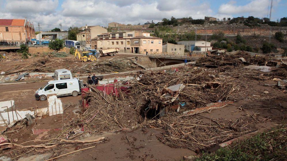Foto: Imagen de los efectos del temporal. (EFE)