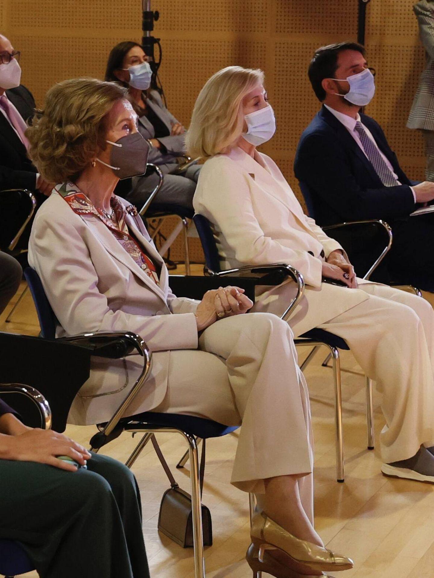 La reina Sofía, durante el congreso. (Casa de S. M. el Rey)