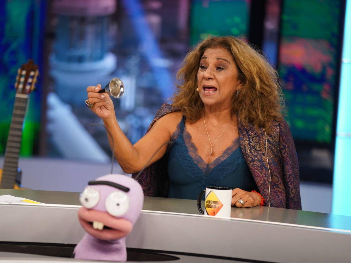 Foto: Lolita Flores, en 'El hormiguero'. (Atresmedia)