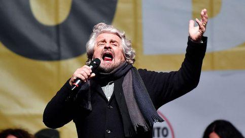 Beppe Grillo 'rompe' con Farage y predica la pobreza como remedio desde el lujo de Kenia