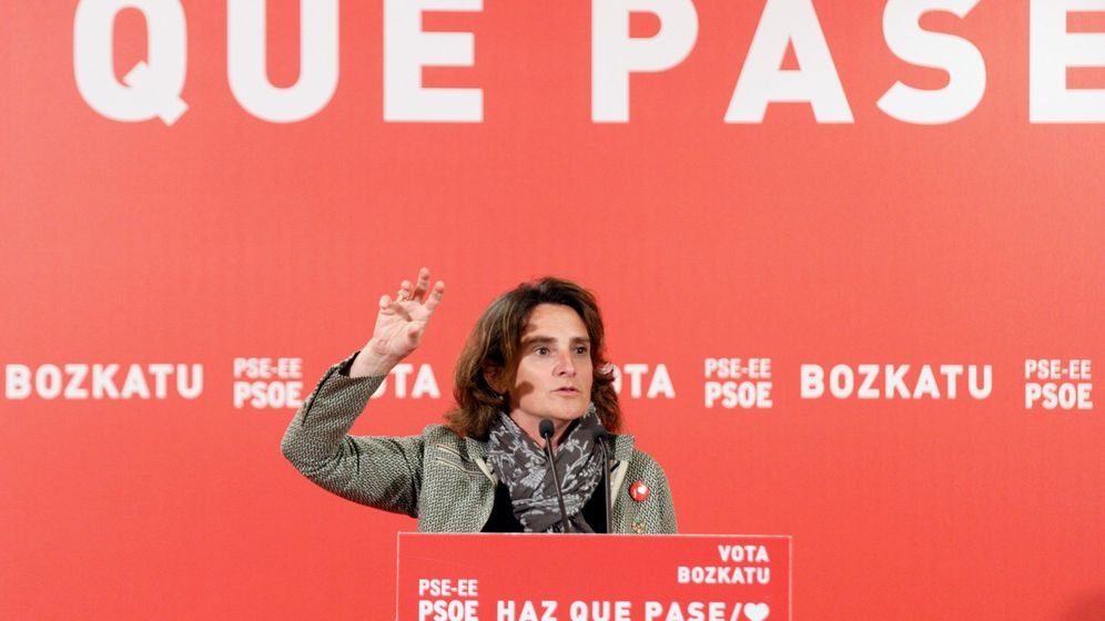 Foto: La ministra de Transición Ecológica en funciones, Teresa Ribera. (EFE)