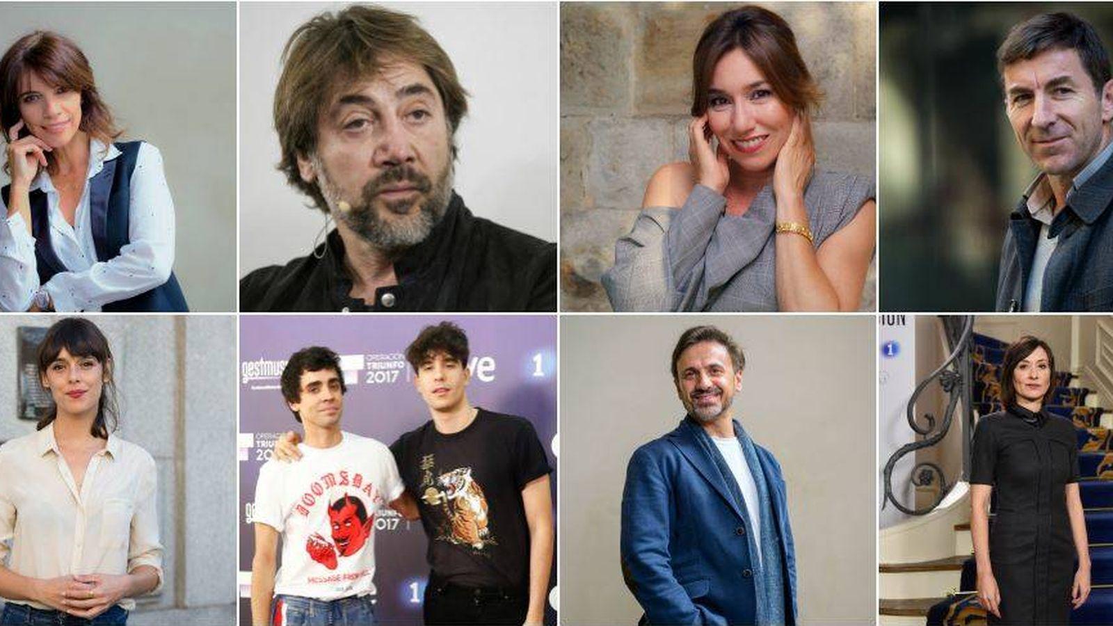 Foto: Algunos de los nominados a los Goya de este año. (Fotomontaje de Vanitatis)
